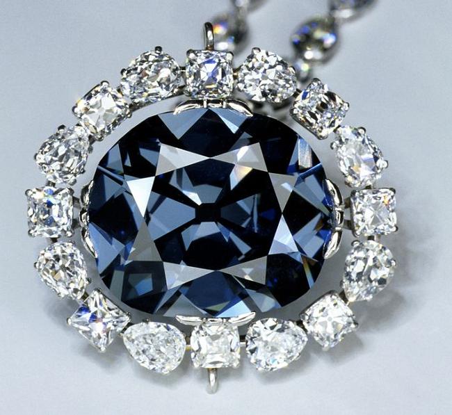 Украшение с алмазом Хоупа