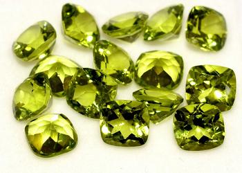 Перидот золотисто-зеленый