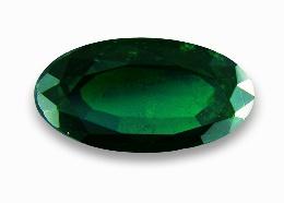 Темно-зеленый цаворит
