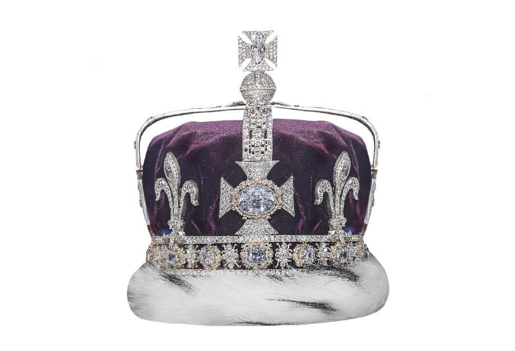 Корона с бриллиантом «Кохинур»
