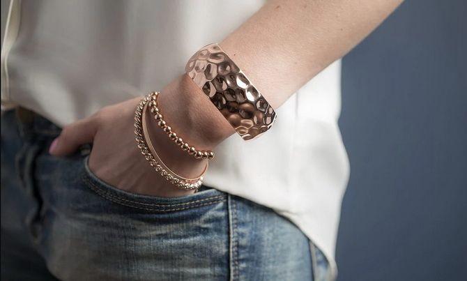 Как носить браслет-манжеты 11