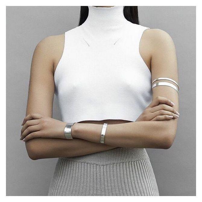 Как носить браслет-манжеты 12
