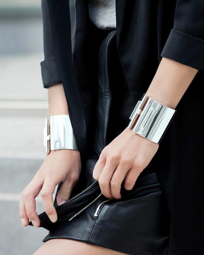 Как носить браслет-манжеты 15